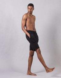 CONFORT SWEAT SHORT - BLACK (3)