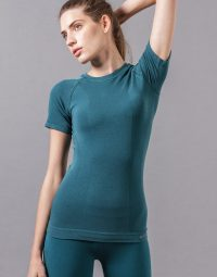 CONFORT YOGA TEE - BLUE CORAL (1)